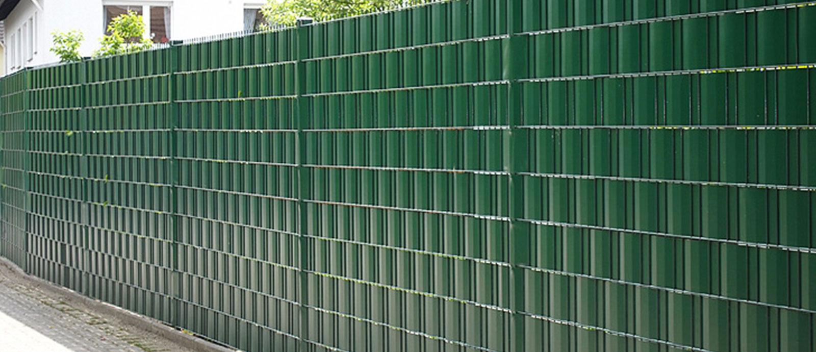 Sichtschutz Metallzaunzentrum Dawidowski